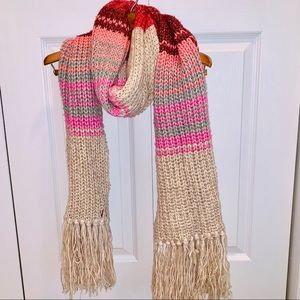 New Victoria's Secret knitted extra long scarf